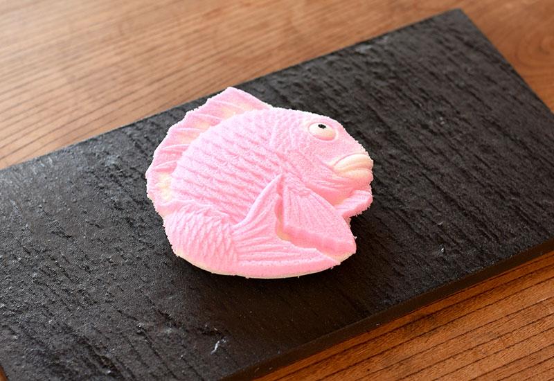 めで鯛(打菓子)